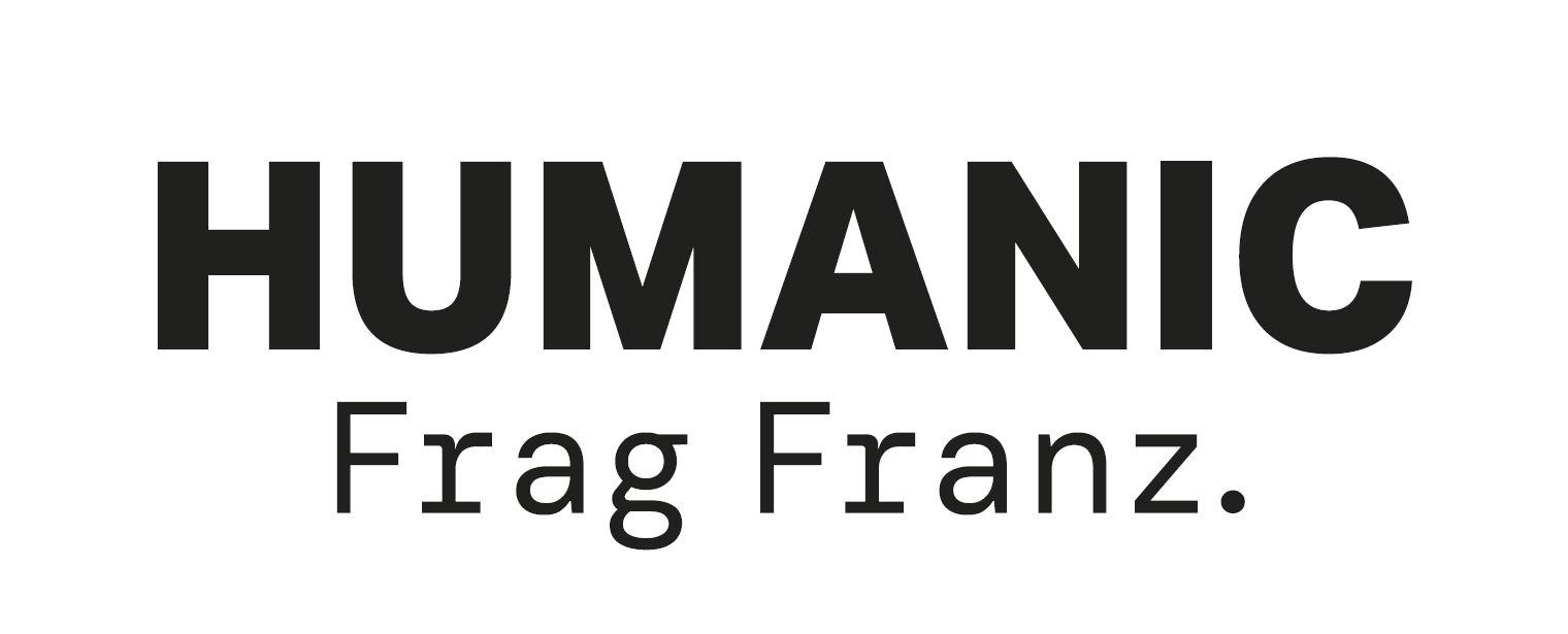 Humanic Logo Frag Franz